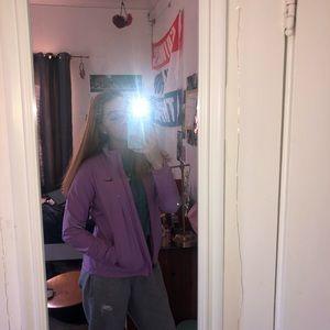 light purple vintage nike windbreaker :)
